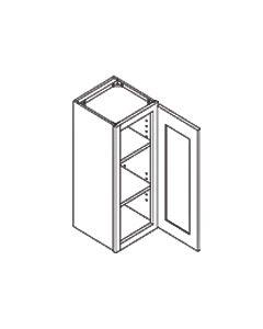 30 inch HEIGHT WALL CABINETS-1 Door-Charleston Saddle