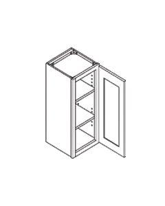 36 inch HEIGHT WALL CABINETS-1 Door-Charleston Saddle