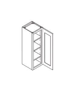 42 inch HEIGHT WALL CABINETS-1 Door-Charleston Saddle