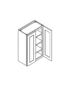 42 inch HEIGHT WALL CABINETS-2 Door-Charleston Saddle