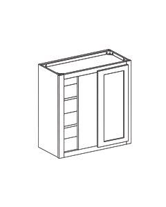 Wall Blind Corner Cabinet-Charleston Saddle